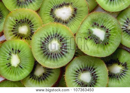 Kiwi Fruit Slices.