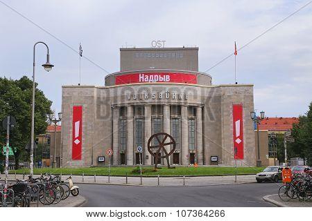 The Volksbuehne Theater At The Rosa-luxemburg-platz, Berlin.