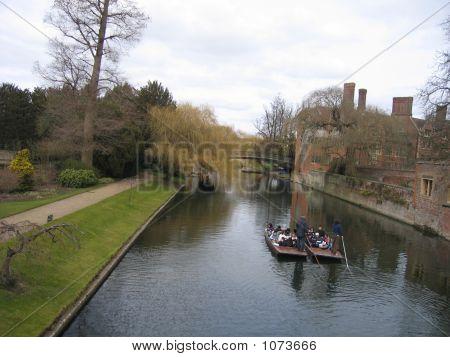 Boat Trip At Cambridge