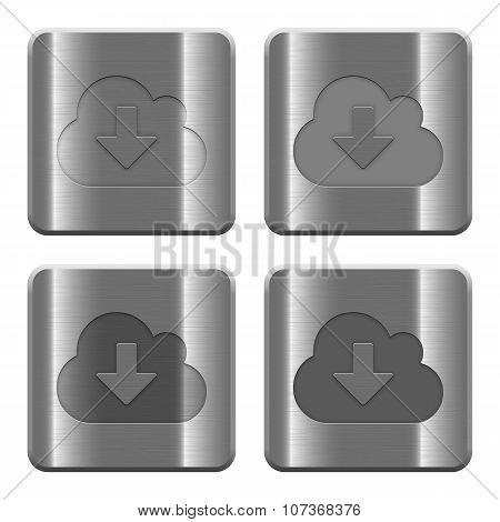 Metal Cloud Download Buttons