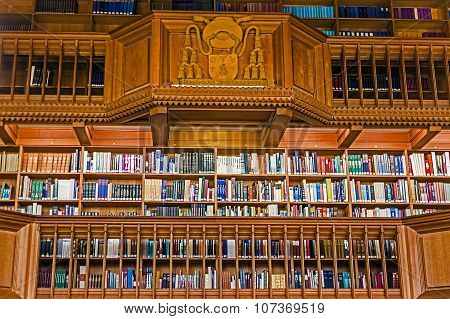 Inside The Library Of The University Of Leuven, Belgium 5