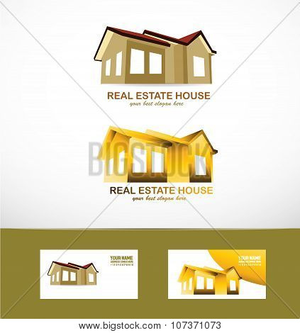 Real Estate House Logo Icon