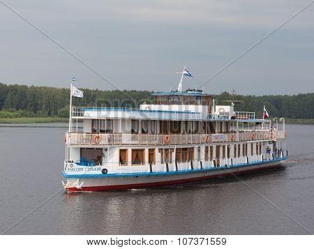 Passenger Ship Maxim Gorky