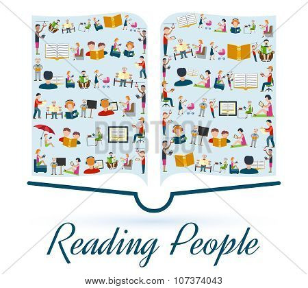 Reading People Concept