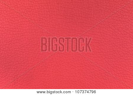 Background Texture Of Red Leather