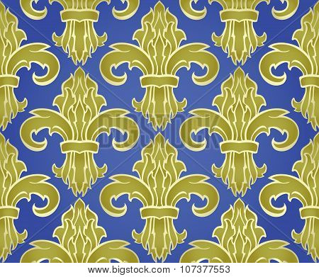 Royalty Pattern With Damask.