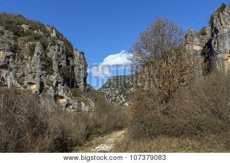 Vikos gorge and Pindus Mountains, Zagori, Epirus