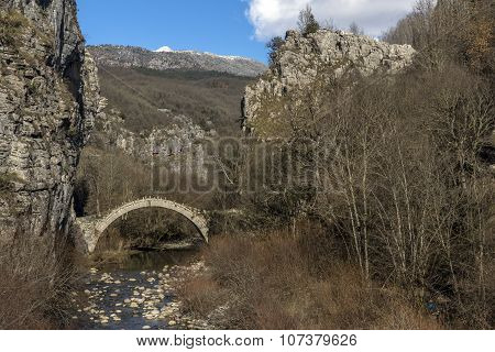 Bridge of Kontodimos, Pindus Mountains, Zagori, Epirus