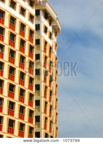 Residential Apartment Facade Pattern