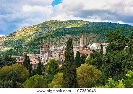 Cityscape of Tivoli