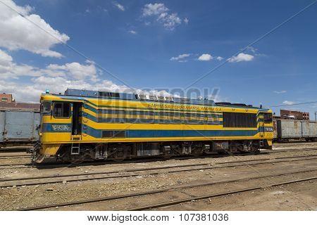 Locomotive Uyuni Train Station
