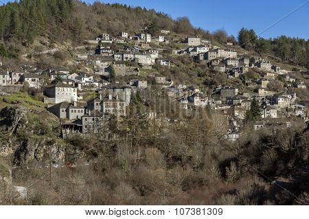 Kipoi village, Pindus Mountains, Zagori, Epirus