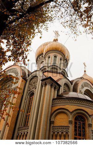 Romanov's Church In Vilnius