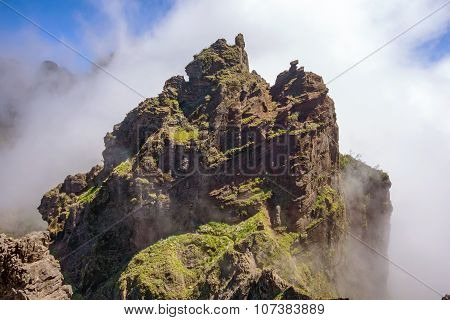 Hiking Tail Passge - Colorful Volcanic Mountain Landscape