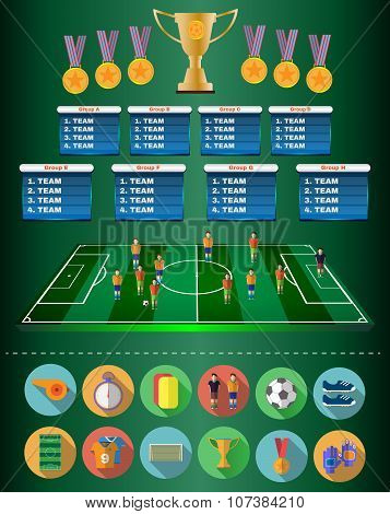 Football Soccer Match Statistics