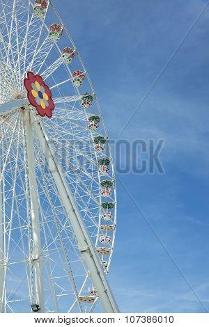 Giant Ferris Wheel In Prater Park - Vienna