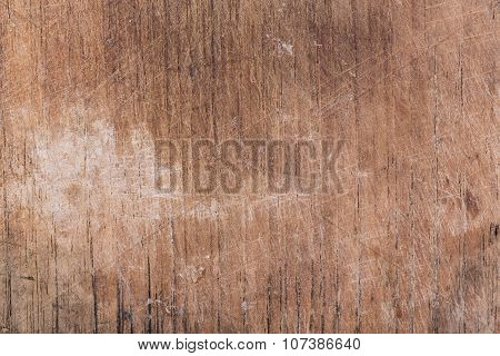 Wood Board Weathered With Scratch Texture Background