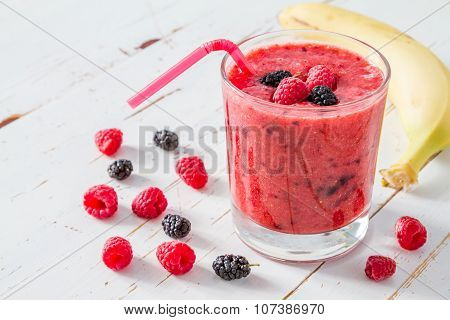 Rasberry smoothie ingredients