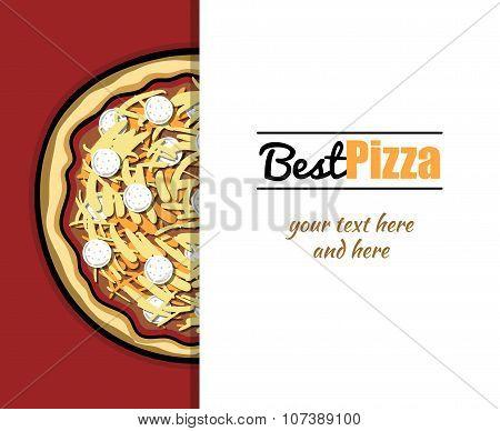 Menu For Pizzeria 7