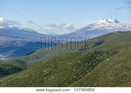 Pindus Mountains Landscape, Zagori, Epirus