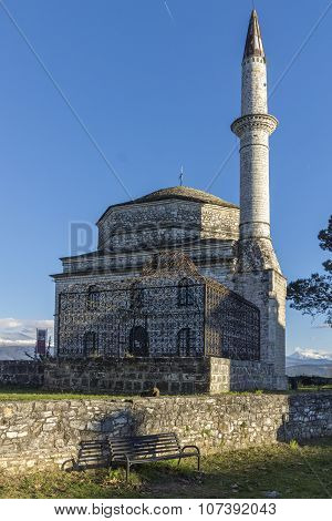 Fethiye Mosque in castle of Ioannina, Epirus, Greece