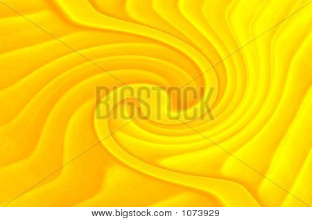 Yellow Abstract Composition