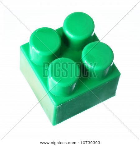 Green Block Of Meccano