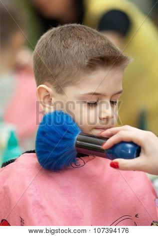 Finishing Haircut