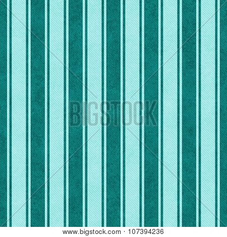 Teal Striped Tile Pattern Repeat Background
