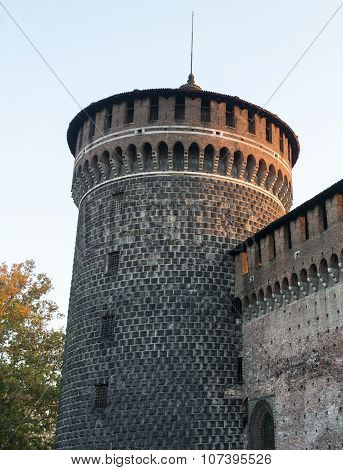 Milan (italy), Castello Sforzesco