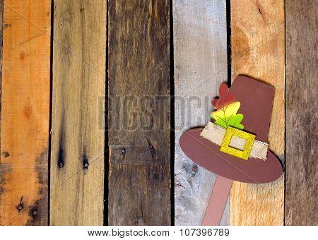 Autumn Pilgrim hat