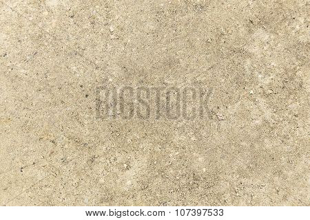 Closeup View Of Ground Texture