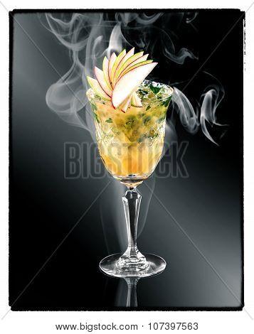 Pineapple Margaritas cocktail