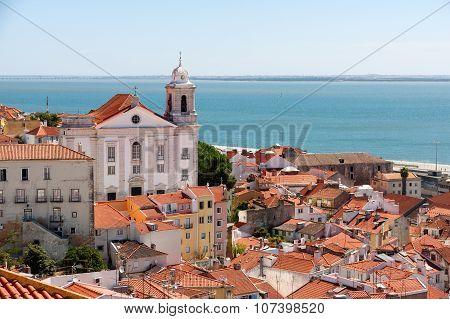 Lisbon Cityscape Of
