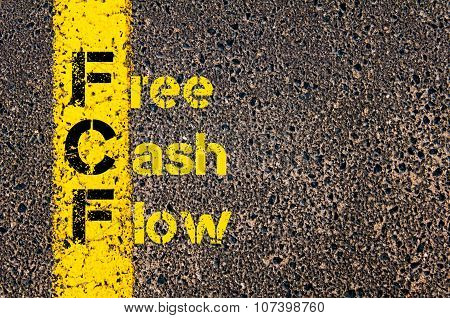 Business Acronym Fcf As Free Cash Flow