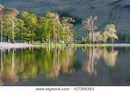 Reflection On The Buttermere Lake