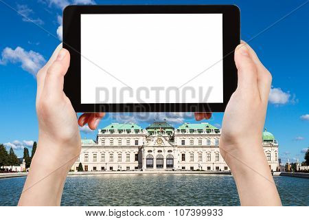 Photographs Upper Belvedere Palace In Vienna