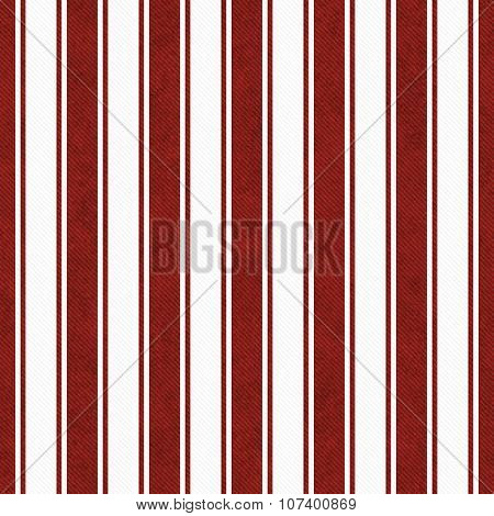 Red And White Striped Tile Pattern Repeat Background