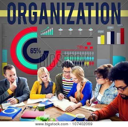 Organization Corporate Business Commitment Team Concept