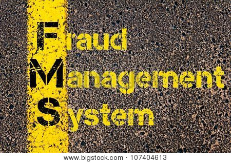 Business Acronym Fms As Fraud Management System