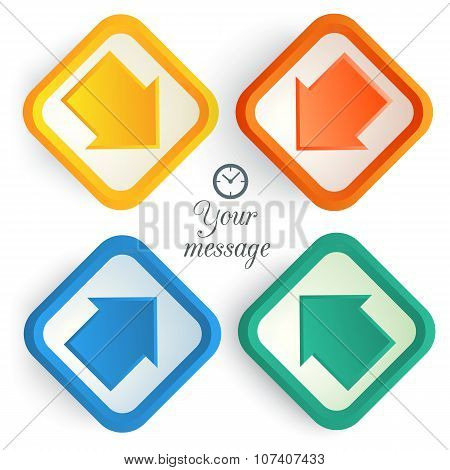 Arrow-design-element-background-pointer-time