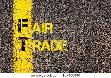 Business Acronym Ft As Fair Trade