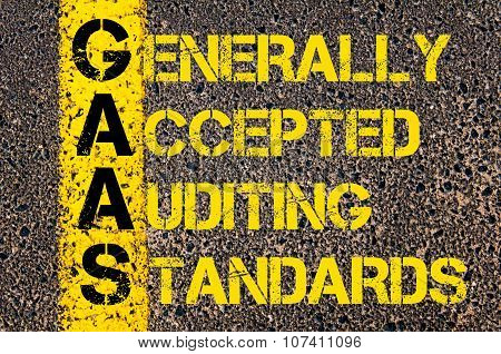 Business Acronym Gaas As Generally Accepted Auditing Standards