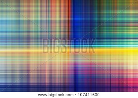 Digital Background With Blurred Stripes Intersections
