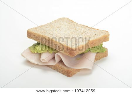 Sandwich Deli Turkey Breast