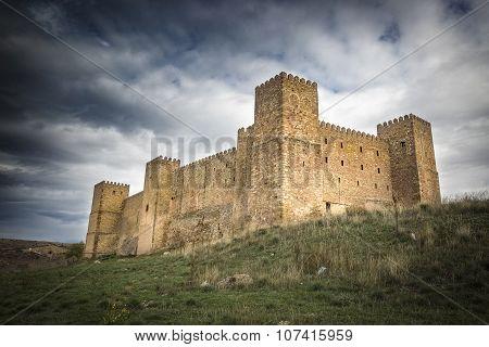 Ancient Castle in Siguenza - Guadalajara, Spain