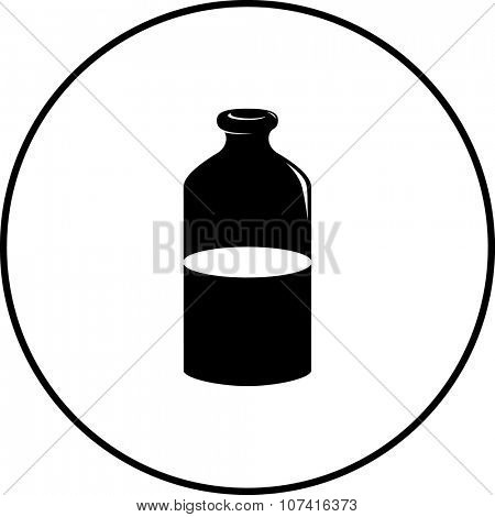milk bottle symbol