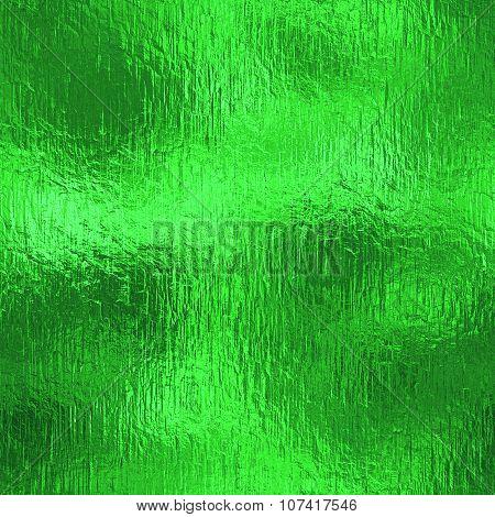 Green Foil HD Texture
