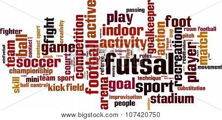Futsal Word Cloud