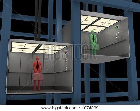 Geschäft - Aufzug #7
